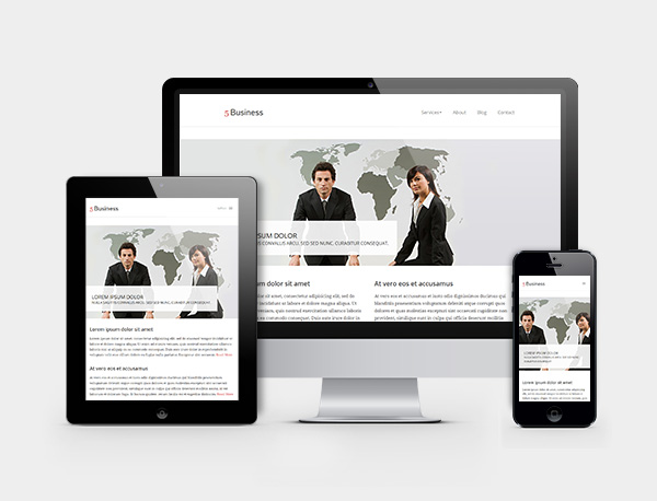 5-business-responsive-wordpress-theme