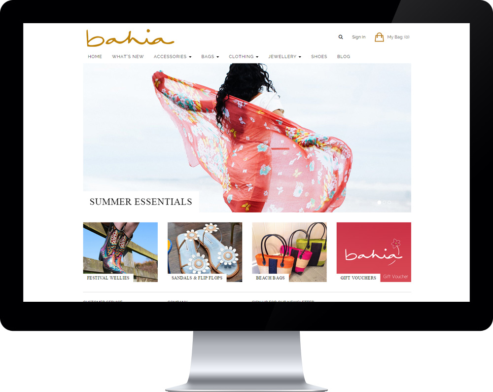 Bahia Boutique screenshot